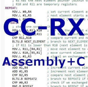 Mesclando C e Assembly no compilador CC-RX